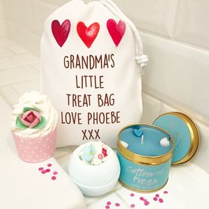 Grandma Bath Gift Set And Candle - bathroom