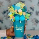 Blue Chocolate Smash Cup