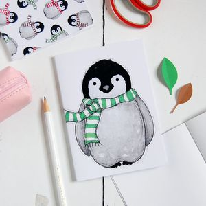 Baby Penguin Notebook