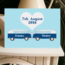 Campervan Wedding Engagement Anniversary Card A5
