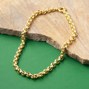 Large Gold Belcher Chain Necklace