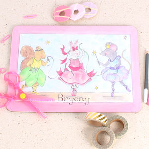 Three Ballerinas Placemat - kitchen