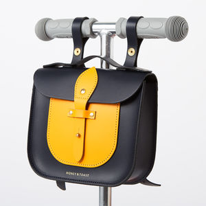 Colour Block Rocket Scooter Satchel