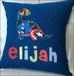Boys' Personalised Cushion