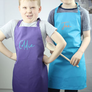 Personalised Name Apron For Kids - aprons