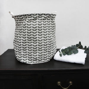 Cotton Laundry Basket