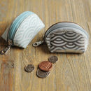 Undercoveruk Leather Wave Tiny Coin Purse