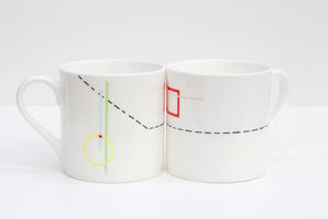 Bone China Mug Fire