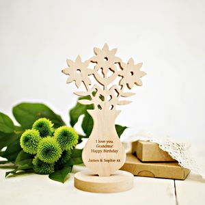 Personalised Handcrafted Wild Flowers - flowers, plants & vases