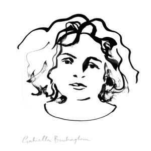 Ink Portrait As A Giclée Art Print - drawings & illustrations