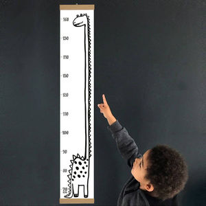 Dinosaur Height Chart - baby's room