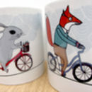Cycling Adventure Ceramic Mug