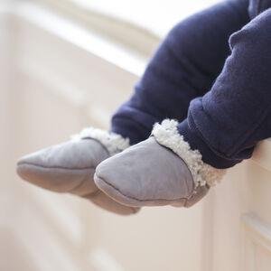 Baa Baby Lambskin Booties In Six Colours