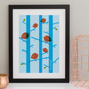 Personalised Birds Family Print