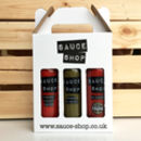 Sauce Shop Chilli Sauce Gift Box