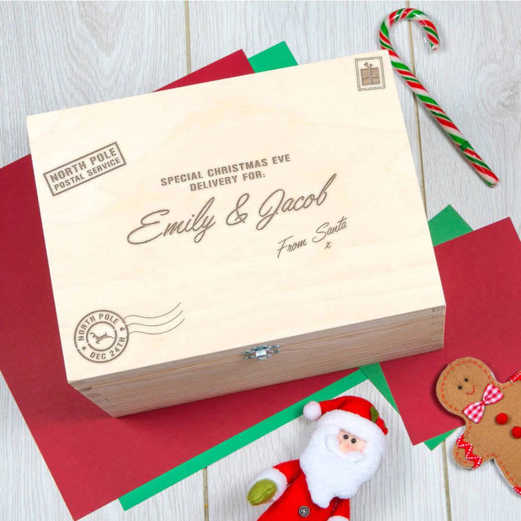 personalised christmas eve box by dust and things ...