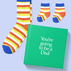 'You're Going To Be A Dad' Gift - books