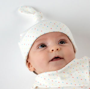 First Kisses Organic Knot Hat - children's accessories