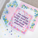 Personalised Mothers Day Handkerchief Keepsake