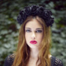 Statement Flower Crown Multiple Colours