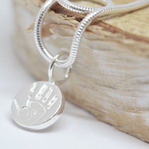 Mini Hand And Footprint Charms - charm jewellery