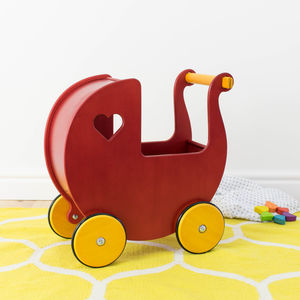 Classic Traditional Dolls Pram - traditional toys & games