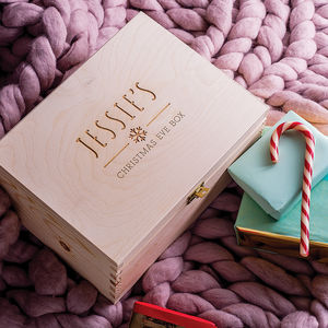 Personalised Children's Christmas Eve Box - children's storage