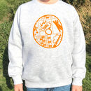 Patterned Personalised Initial Sweatshirt