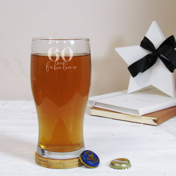 Special Birthday Personalised Pint Glass