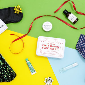 Christmas Party Hangover Survival Pamper Kit - bathroom