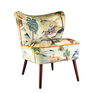 Bartholomew Vintage Style Cocktail Chair In Aesop Fable - furniture
