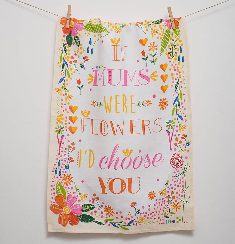 Mother's Tea Towel