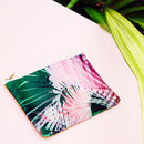 Tropical Pink Pouch Purse Bag