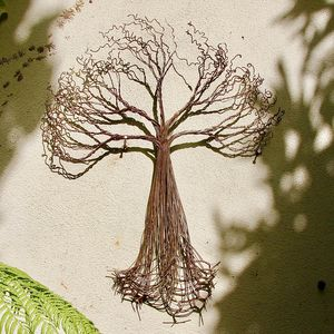 Rusted Tree Wall Art - new in garden