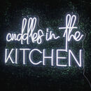 'Cuddles In The Kitchen' Neon LED Sign
