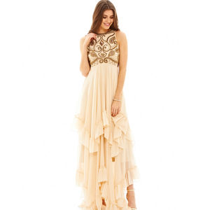 Zada Nude Dress - dresses