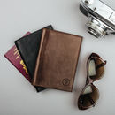 Italian Leather Passport Cover. 'Prato'