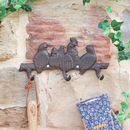Cast Iron Rooster Wall Hook