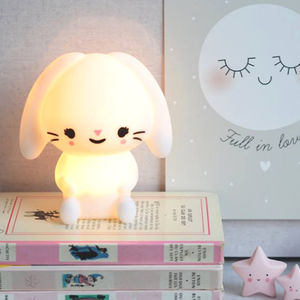 Bunny Night Light - children's room