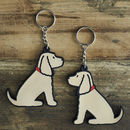 Golden Cocker Spaniel Key Ring