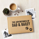 Personalised Adventures Pet Photo Journal Album