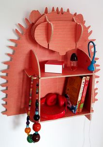 Hedwig The Hedgehog Wall Shelves - furniture
