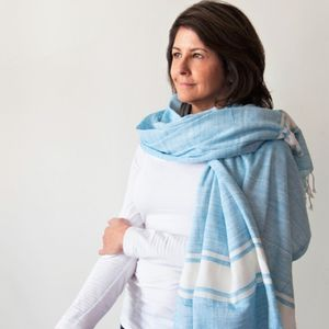 Blanket 'Kikoy Pareo' Travel Shawl/Wrap