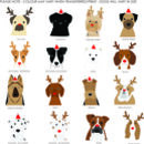 Personalised Christmas Dog Wrapping Paper, Large Sheets