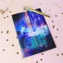 Metallic Wanderlust Northern Lights A5 Notebook