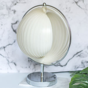Vintage 80's Spiral Table Lamp - what's new