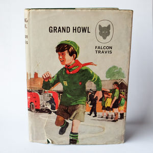 Vintage Notebook 'Grand Howl' - whats new
