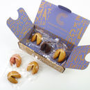 Personalised Six Handcrafted Fortune Cookies