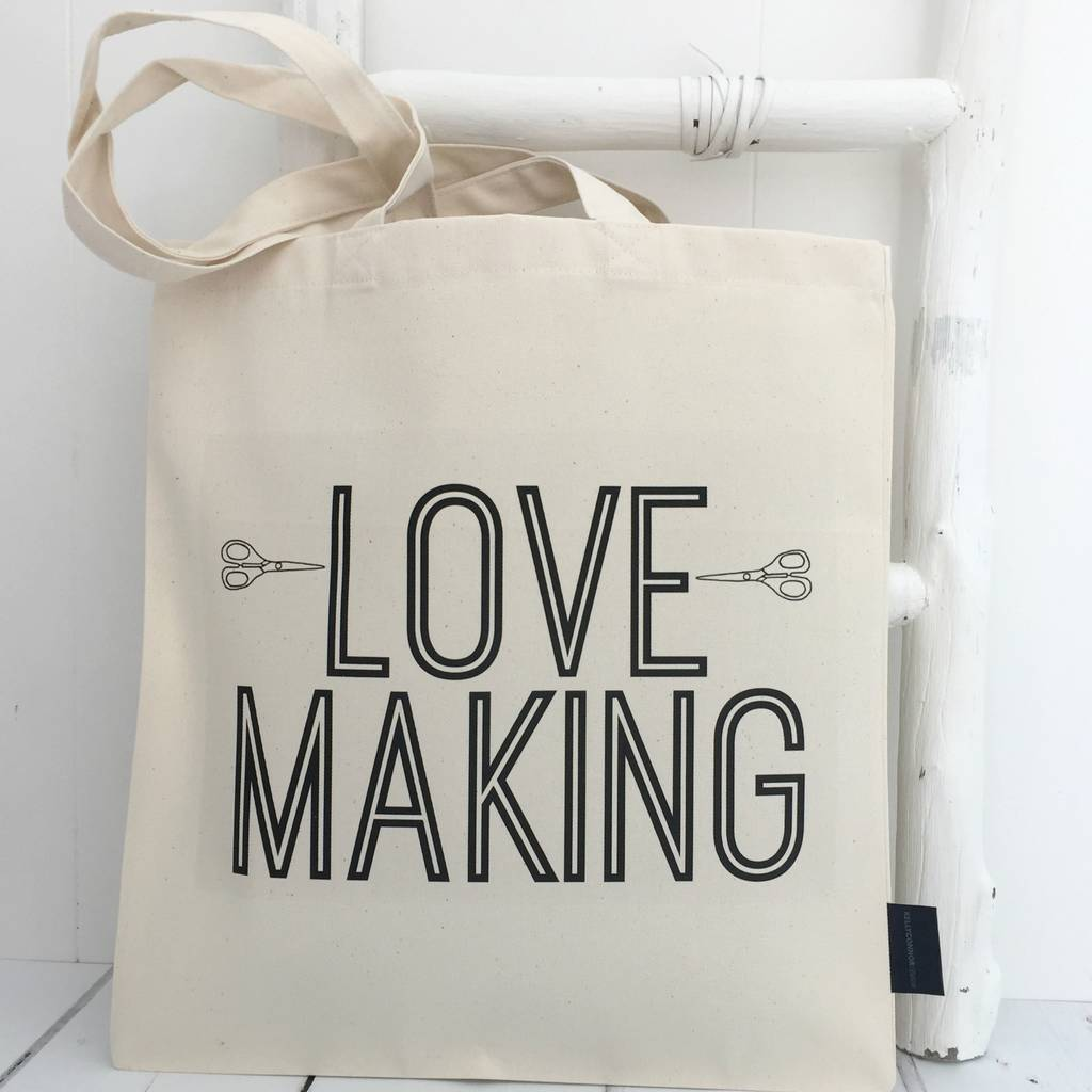 'Love Making' Project Bag