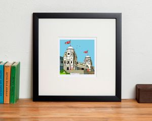 The Old Wembley Football Stadium Print - drawings & illustrations
